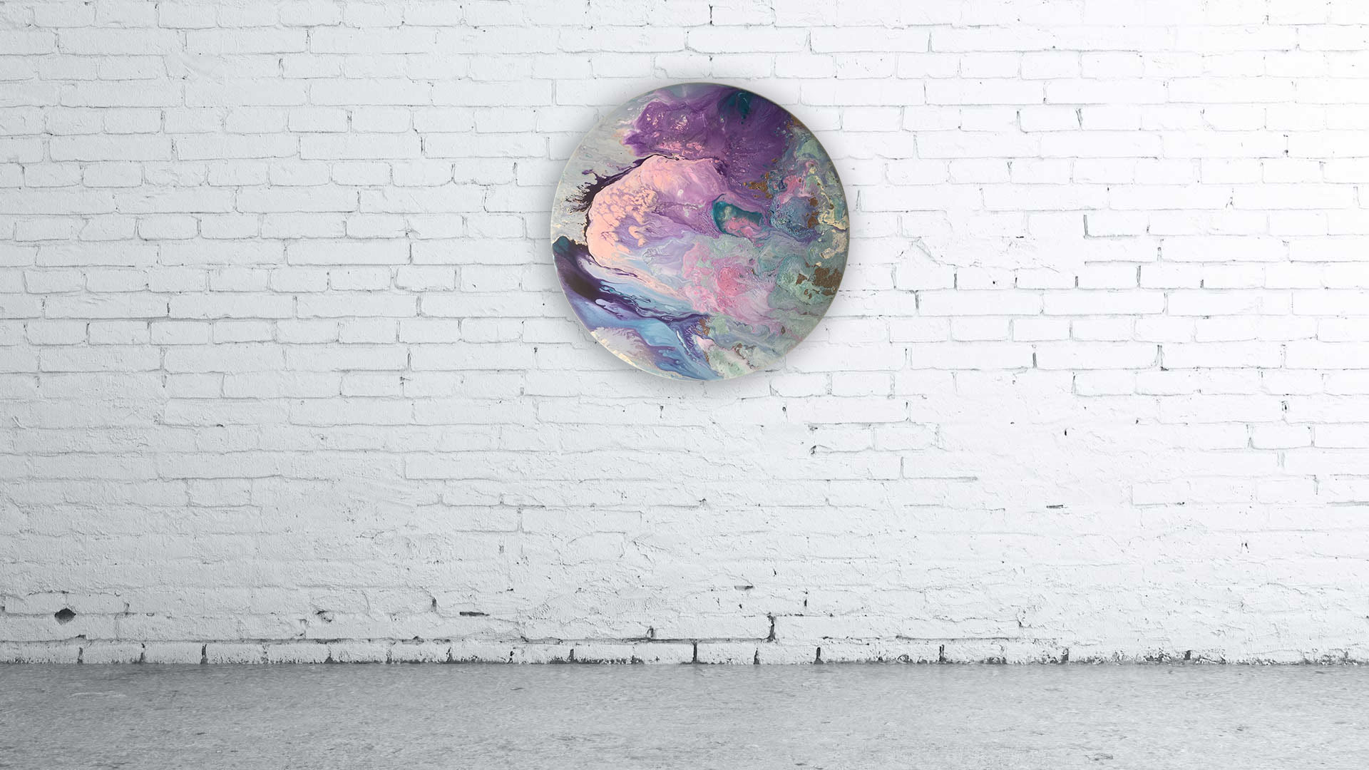 Purple earth Image
